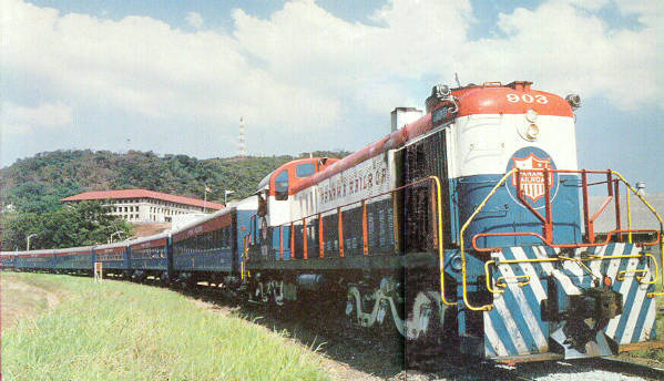 Diesel Locomotives of the Panama Railroad