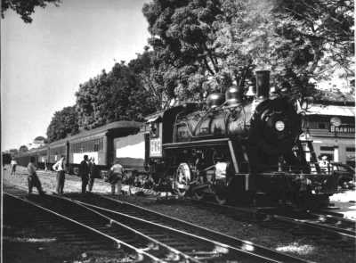 Panama Rail Road Steam Locomotives